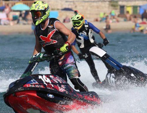 L'ampostí Jordi Tomàs, a un pas de ser campió de Catalunya de motos aquàtiques