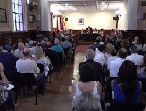 Tortosa homenatja Manuel Pérez Bonfill
