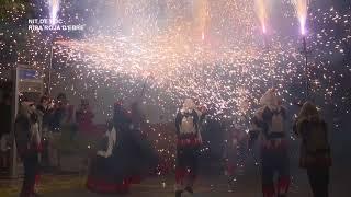Festes Majors Riba Roja d'Ebre 2018  Nit de foc