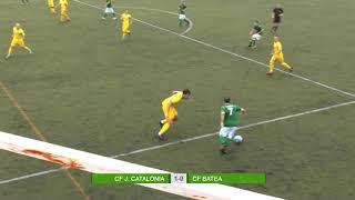 Un gol de Xescu val el triomf del Catalònia