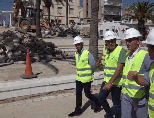 En marxa les obres de transformació de la façana marítima de l'Ametlla de Mar