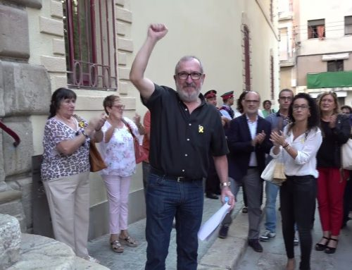 """Paco Gas diu al jutge que els llaços grocs són """"un moviment del poble"""""""