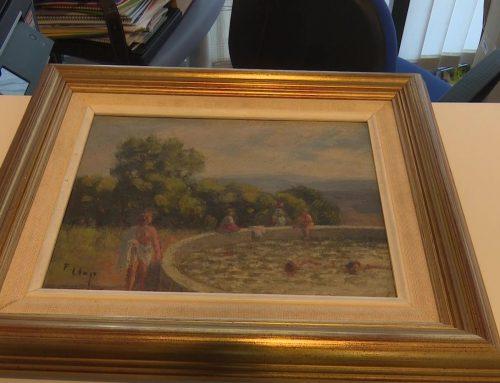 Campredó inicia el procés per posar al dia les obres del pintor Francesc Llop