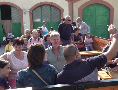 Més de 1200 persones passen per la segona Festa del Tren de Móra la Nova