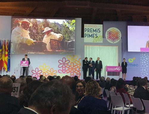 Mel Muria guardonada als Premis Pimes 2018