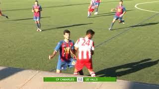 El Valls guanya a Camarles (1-2)