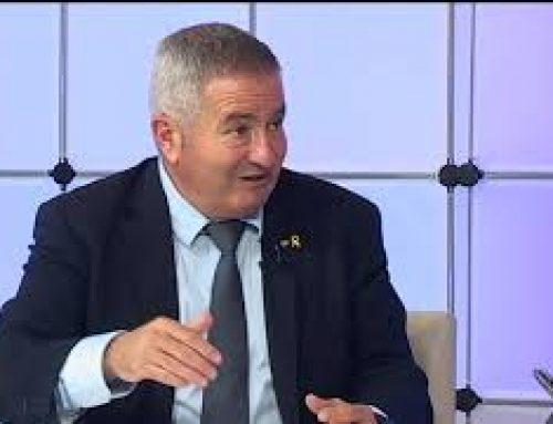 Entrevista a Xavier Pallarés, delegat del Govern a l'Ebre
