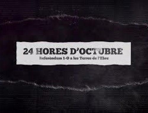 Documental '24 Hores d'octubre: referèndum 1-O a les Terres de l'Ebre'
