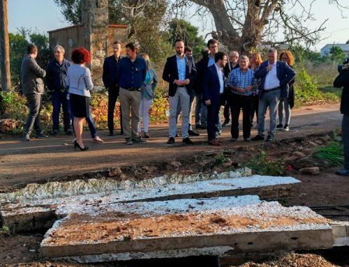 Els ajuntaments del Montsià valoren en 12 MEUR els danys del temporal d'octubre