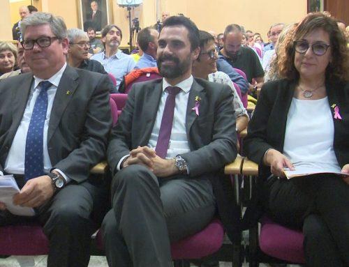 Torrent apadrina Xavier Faura en la seva presentació com a candidat d'ERC a Tortosa