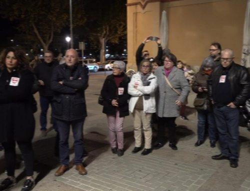 Manifestació en contra de la sentència del Tribunal Suprem sobre l'impost de les hipoteques