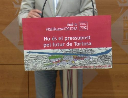 El portaveu del PSC de Tortosa titlla els pressupostos d'electoralistes