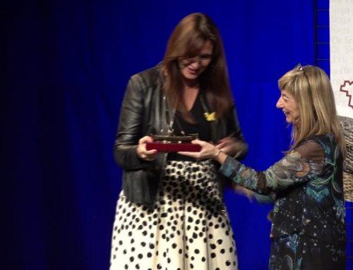 La consellera de Cultura, Laura Borràs, presideix els premis Sirga d'Or