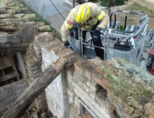 Quatre despreniments en edificis del nucli antic a Tortosa per l'episodi de pluges