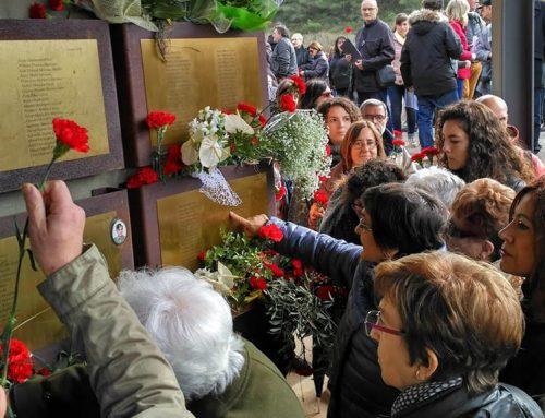 L'homenatge als desapareguts de la batalla de l'Ebre tanca el 80è aniversari