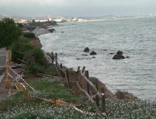Alcanar reclama a Costes actuacions més contudents per protegir la costa