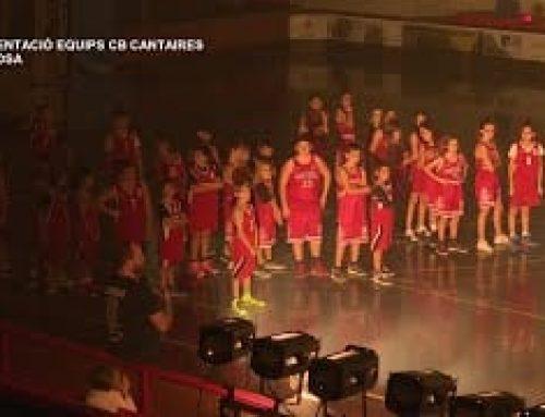 Presentació oficial dels equips del CB Cantaires per la temporada 2018/2019