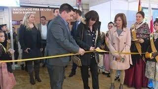 Inauguració de la Fira de l'oli novell