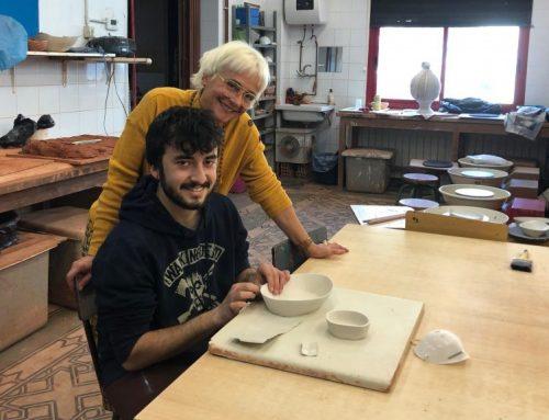 El jove Adrià Sentís guanyador del premi Ribera d'Art 2018
