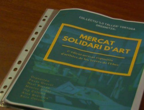 Arriba el Mercat Solidari d'Art al nucli antic de Tortosa