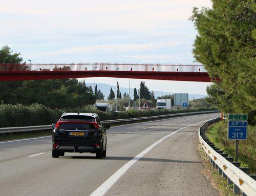 Troben el cadàver d'un home atropellat a l'autopista AP-7 a l'Aldea