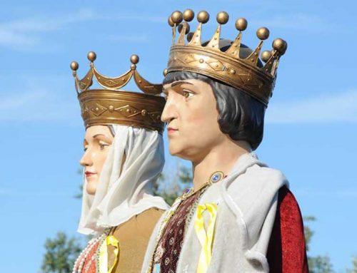 Amposta 'destrona' els Reis Catòlics com a gegants de la ciutat