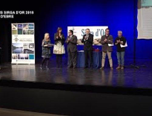 Premis Sirga d'Or a Móra d'Ebre
