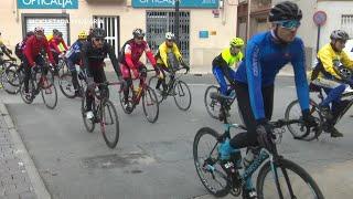 Trobada cicloturista La Marató TV3 a Jesús