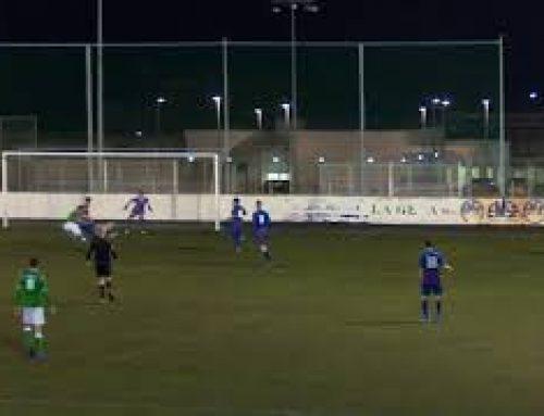 Pas endavant de l'Arnes, al camp del Catalònia B (0-1)