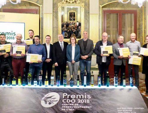 Premiat un oli d'oliva verge de la Terra Alta entre els millors de la província