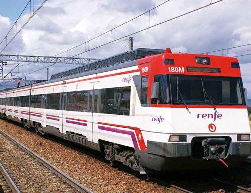 Tallada la circulació de trens de l'R16 fins demà pel mal temps