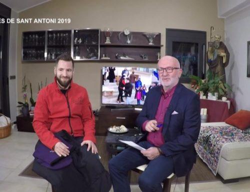 Entrevista al majoral i al clavari de les Festes de Sant Antoni d'Ascó