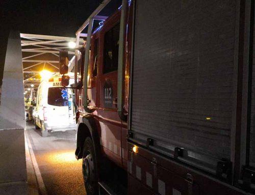 Aparatós accident al Pont de l'Estat de Tortosa