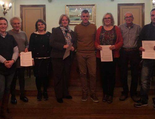 Acord de les entitats socials d'Amposta amb l'ajuntament per mantindre els locals socials