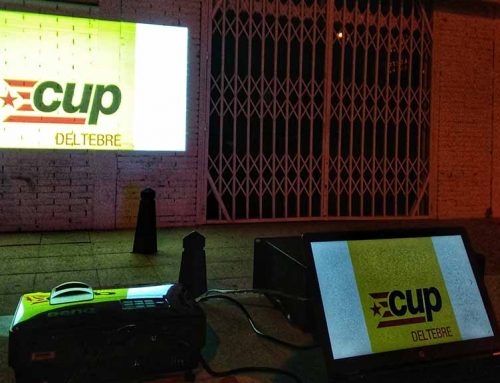 Les CUP inicien la precampanya en petits actes a Deltebre