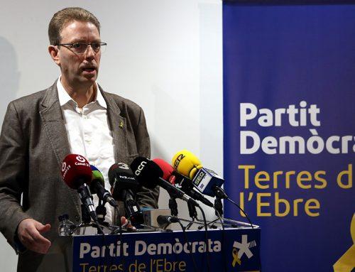 """Ferran Bel avisa al PSOE que el gest polític que esperen no és """"complir amb l'Estatut"""""""