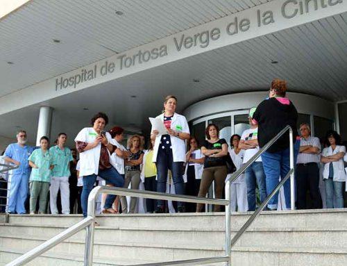 Front comú per retindre als metges especialistes a l'Hospital de Tortosa