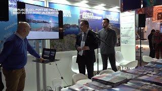 Ports de la Generalitat presenta el projecte d'ampliació del port de Deltebre a Düsseldorf