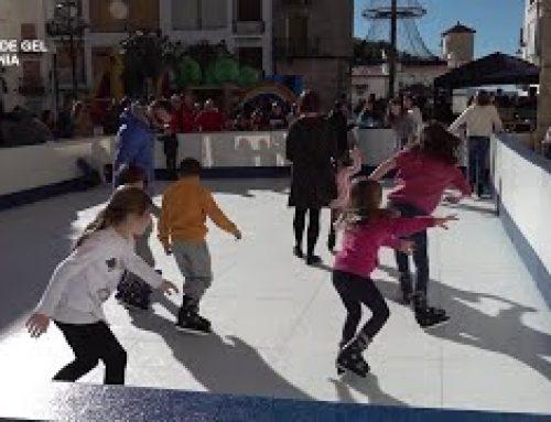 Pista de gel a La Sénia