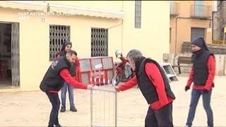 Sant Antoni 2019: La Plega - Ascó