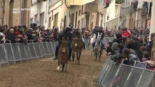 Sant Antoni 2019: Cursa de Cavalls - Ascó