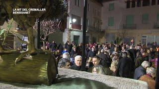 Sant Antoni 2019: La nit del cremaller a Benissanet
