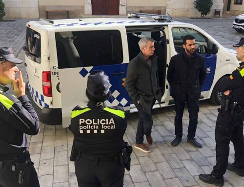 La Policia Local d'Amposta incorpora un nou vehicle d'atestats