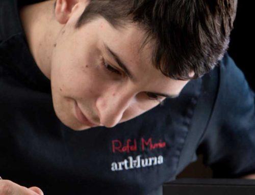 El restaurant Quatre Molins, que dirigeix el xef Rafel Muria, distingit amb 'El Plat' de la Guia Michelin