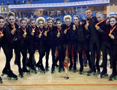 El grup xou petit del CP l'Aldea, campió de Catalunya