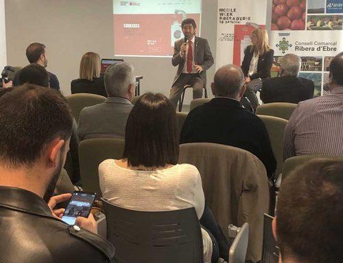 El Conseller Puigneró inaugura el Mobile Week a la Ribera d'Ebre
