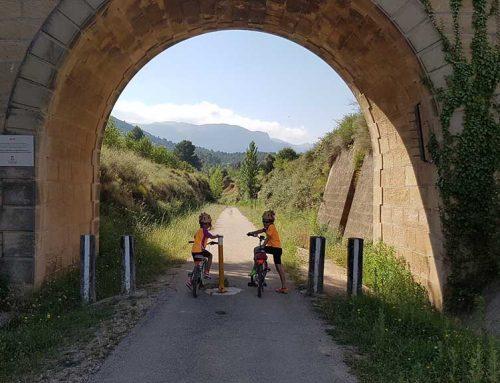 La Via Verda de la Val de Zafán incrementa un 25% els usuaris al tram del Baix Ebre