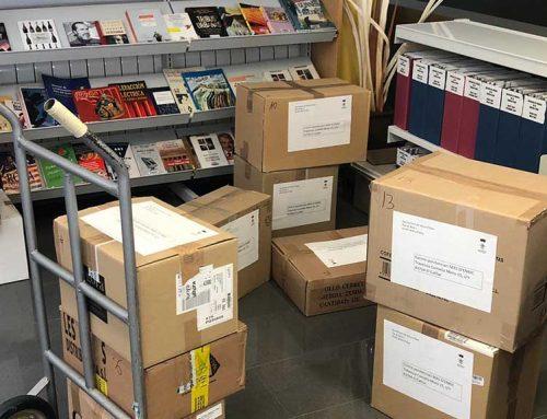 Móra d'Ebre dona un miler de llibres al Centre Penitenciari Mas d'Enric