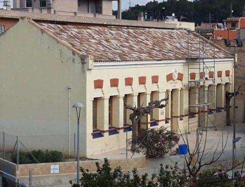 Enllestides les obres de les escoles de Sant Llàtzer per a realitzar activitats l'associació de veïns