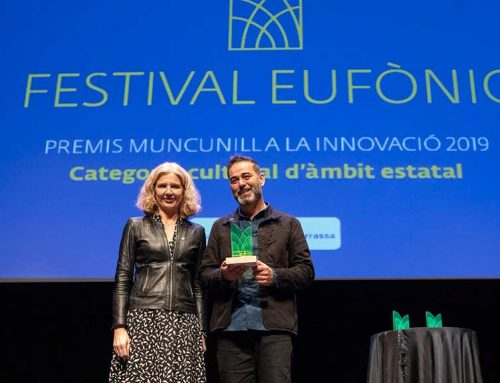 Eufònic rep el Premi Muncunill a la Innovació Cultural 2019